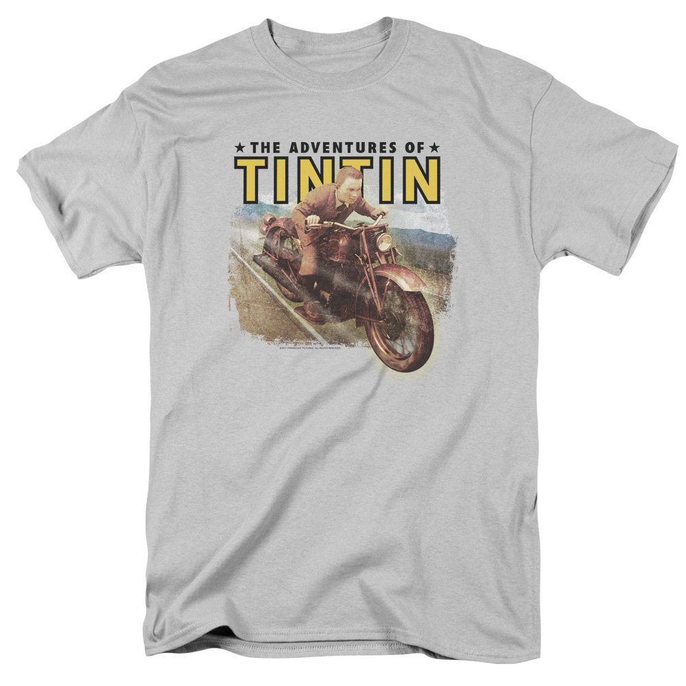 Open Road The Adventures Of Tintin T-Shirt
