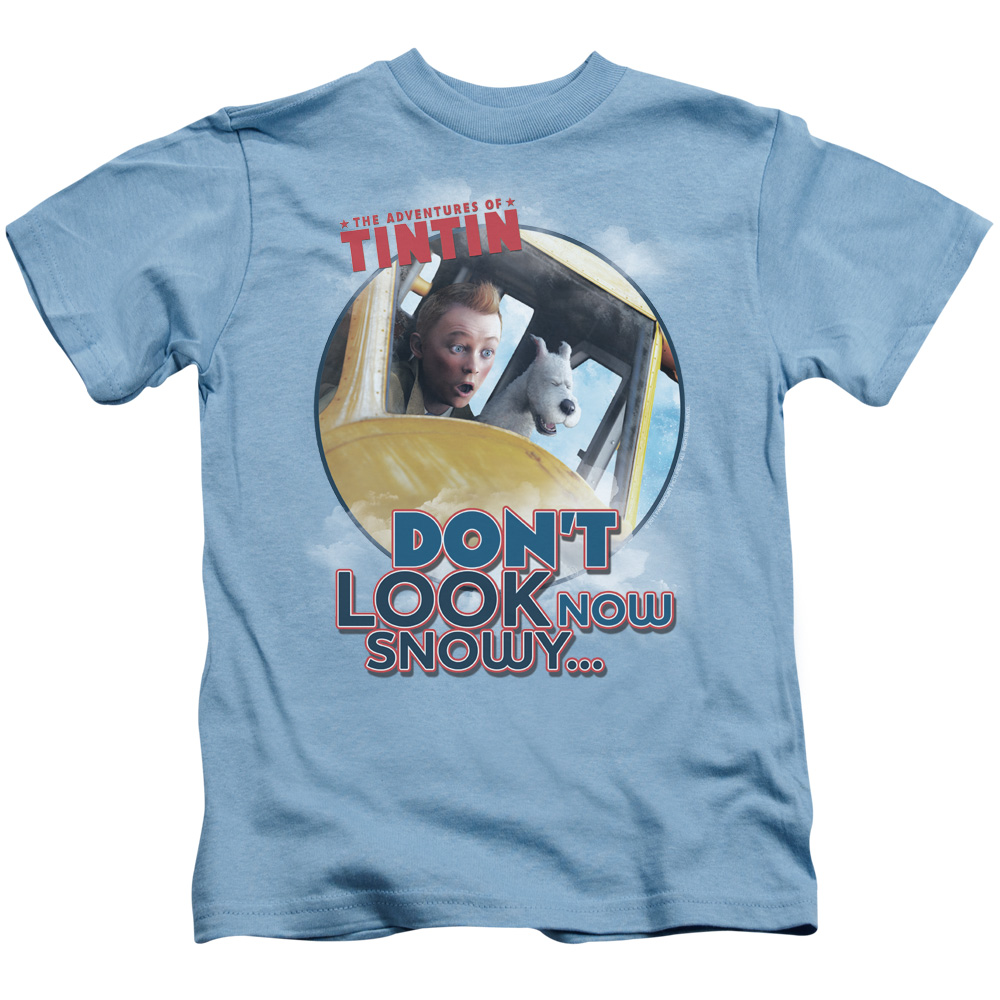 Don'T Look Now The Adventures Of Tintin Juvy T-Shirt