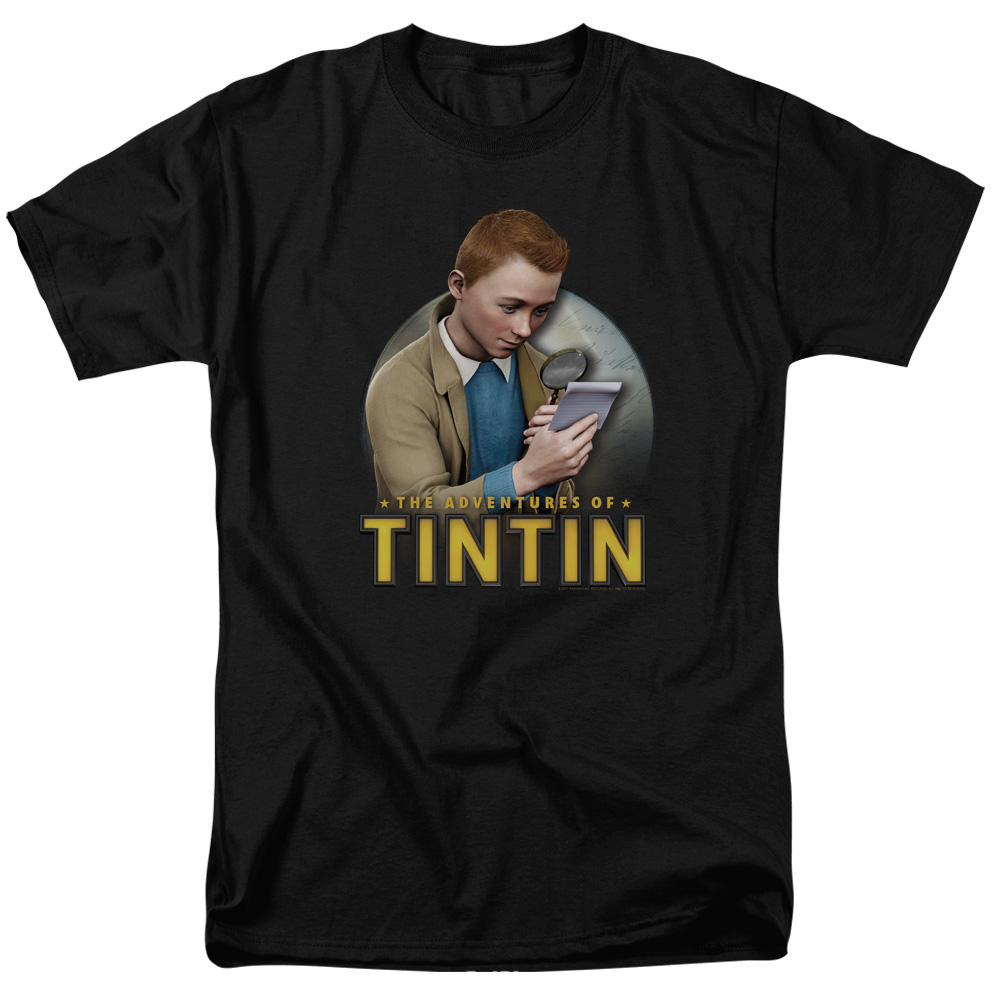 Looking For Answers The Adventures Of Tintin T-Shirt
