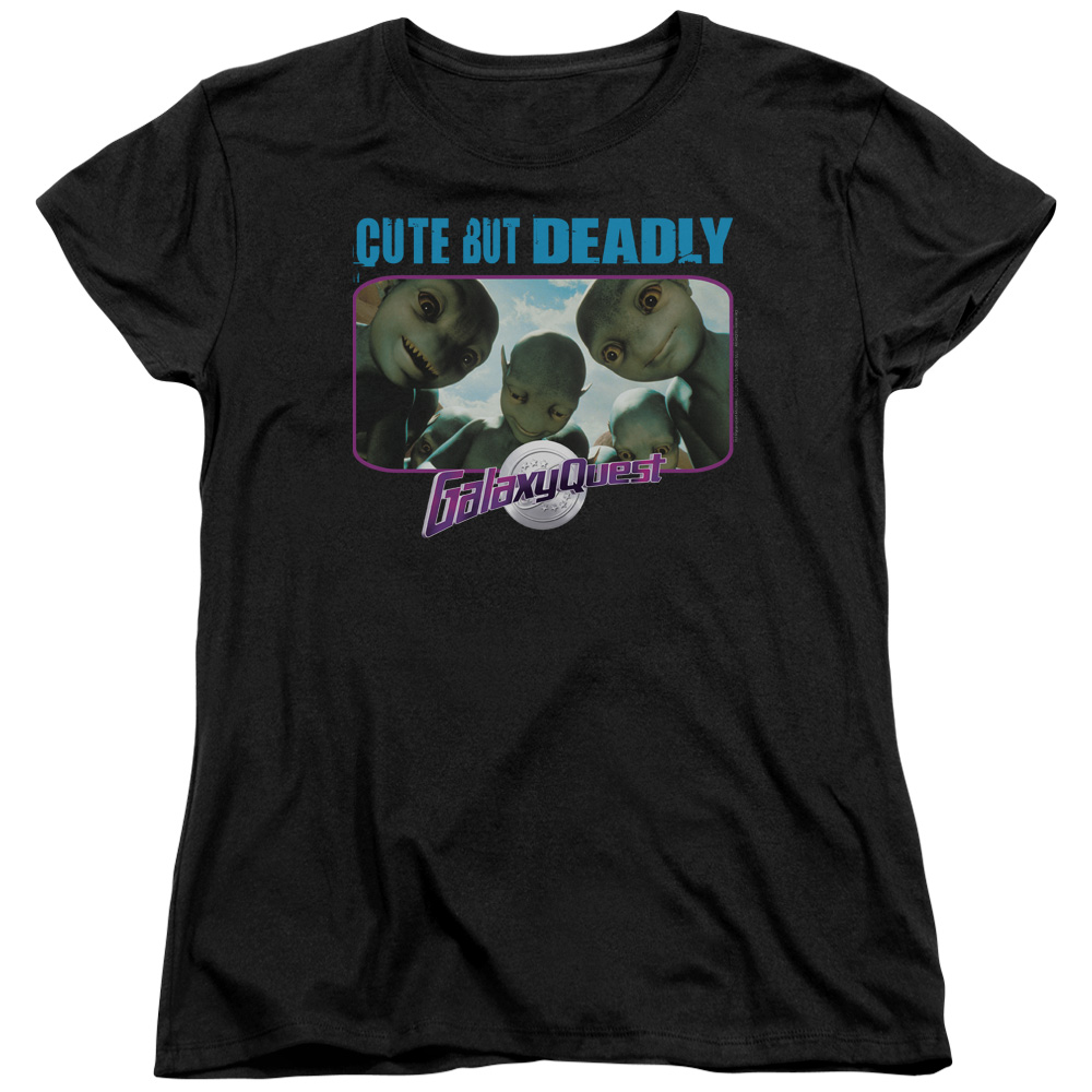 Galaxy Quest Cute But Deadly Women's T-Shirt