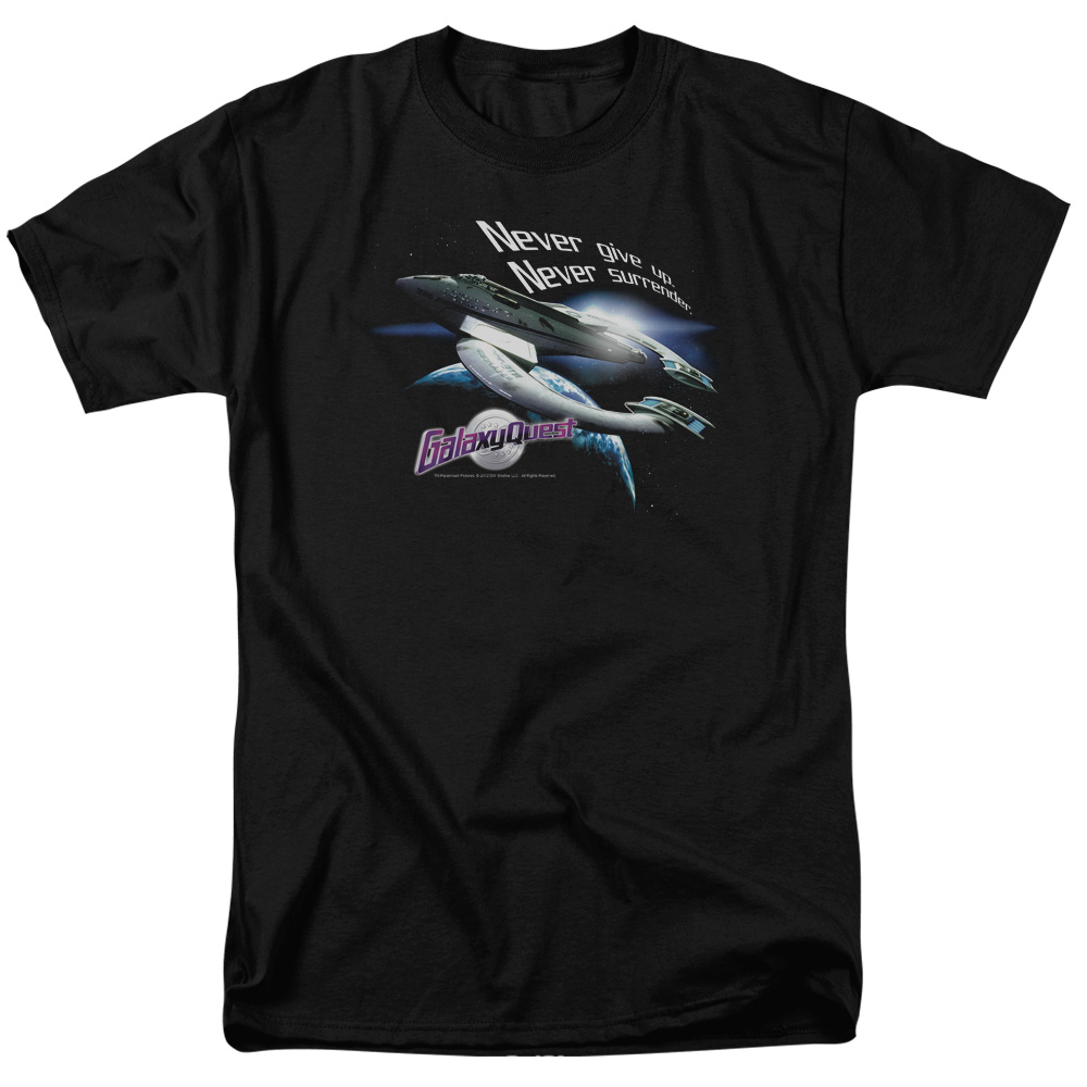Galaxy Quest Never Surrender T-Shirt