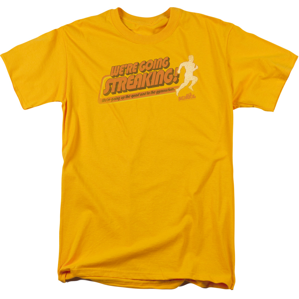 Old School Streaking T-Shirt