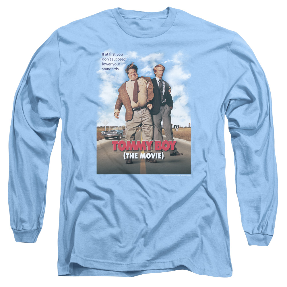 Movie Poster Tommy Boy Long Sleeve Shirt