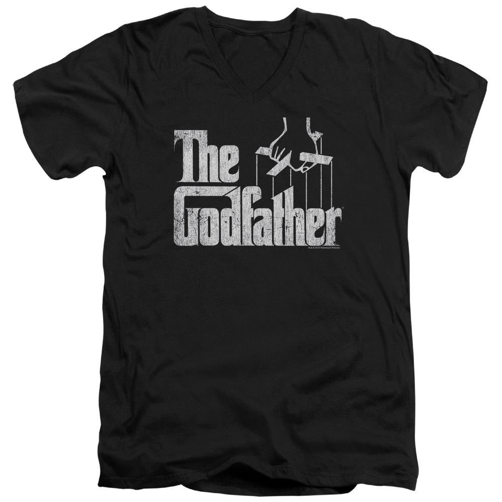 The Godfather Logo V-Neck T-Shirt