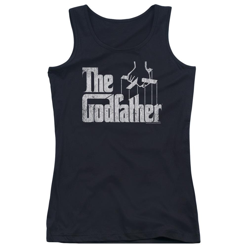The Godfather Logo Juniors Tank Top
