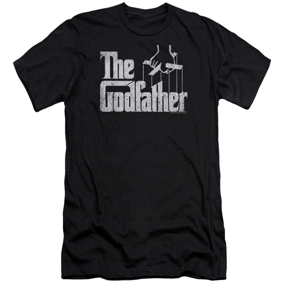 The Godfather Logo Premium Slim Fit T-Shirt