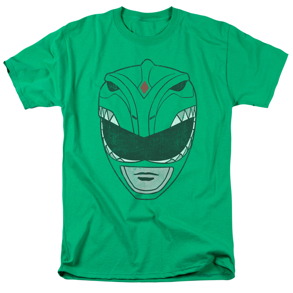 Power Rangers Green Ranger Mask T-Shirt