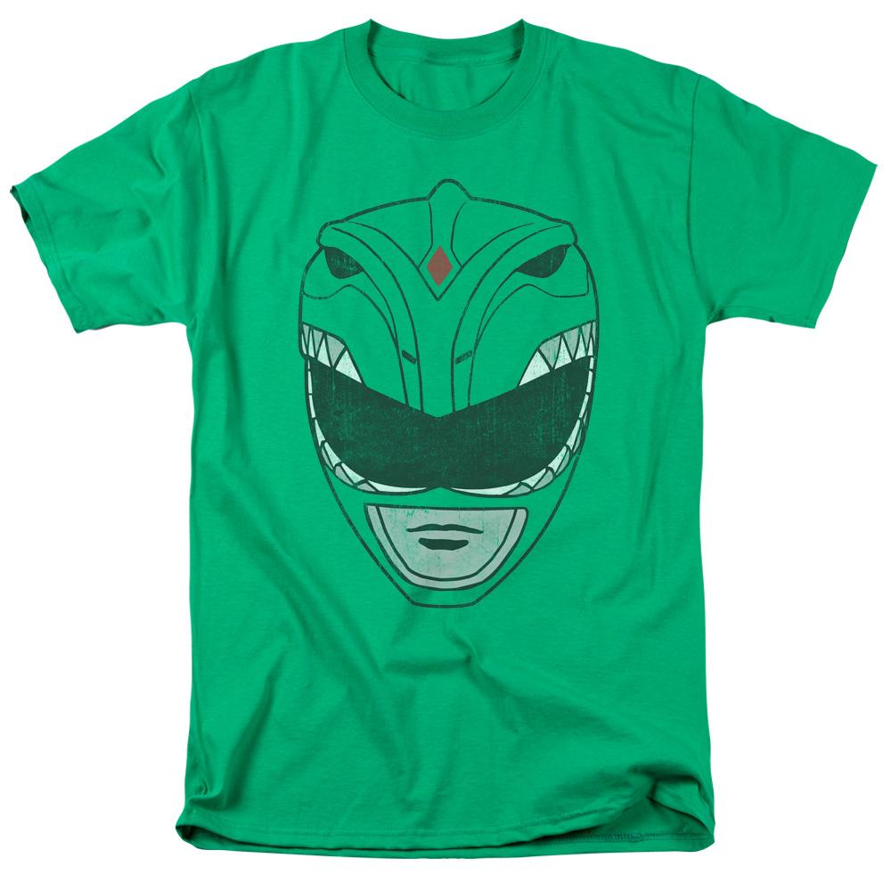 Power Rangers Green Ranger Mask T-Shirt