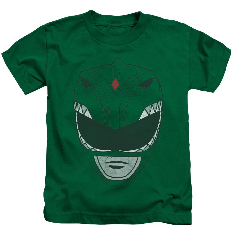 Power Rangers Green Ranger Mask Juvy T-Shirt