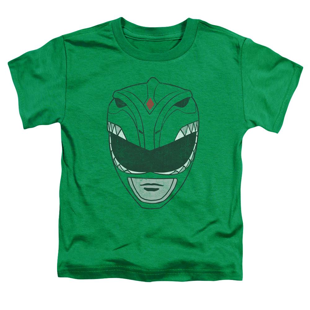 Power Rangers Green Ranger Mask Toddler T-Shirt