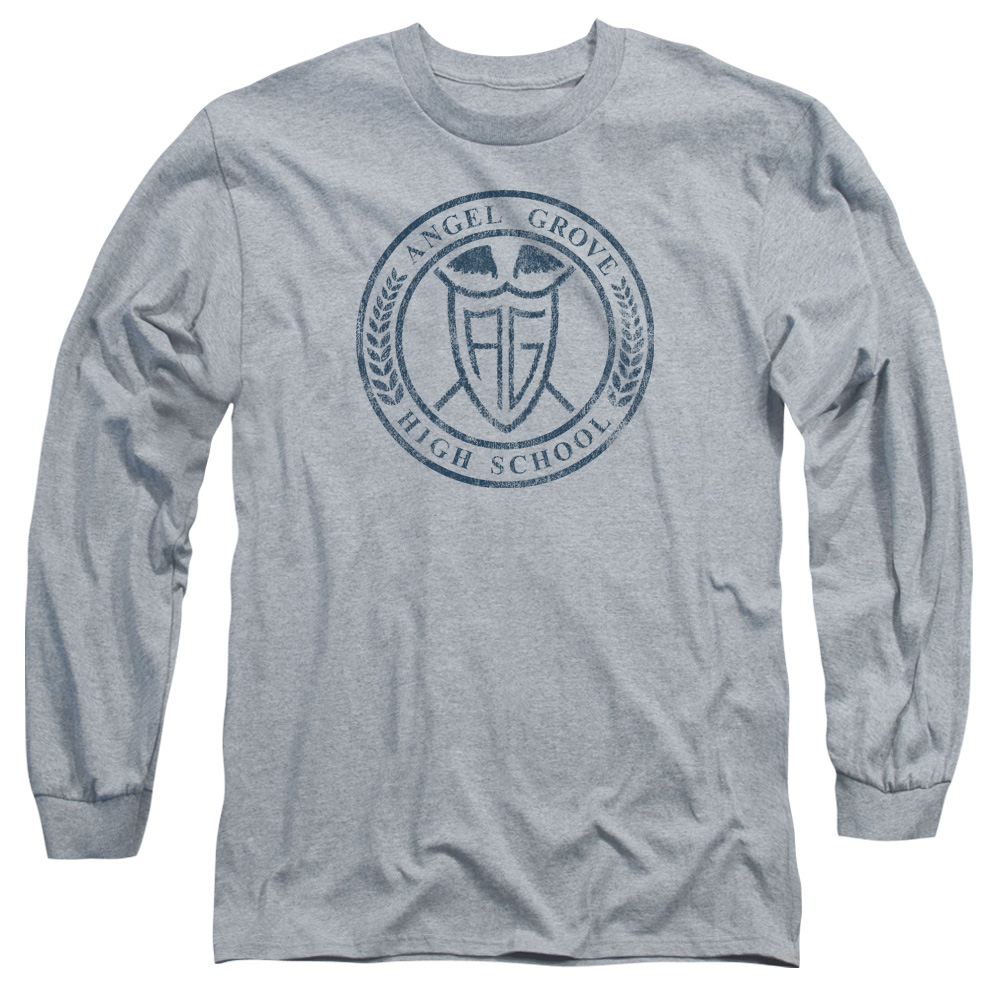 Power Rangers Angel Grove Hight School  Long Sleeve Shirt