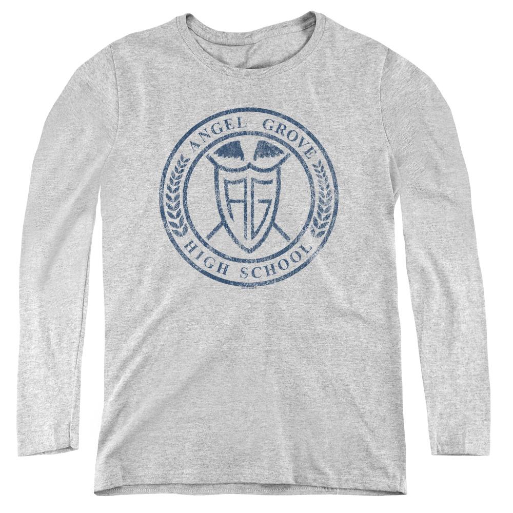 Power Rangers Angel Grove Hight School  Women's Long Sleeve Shirt