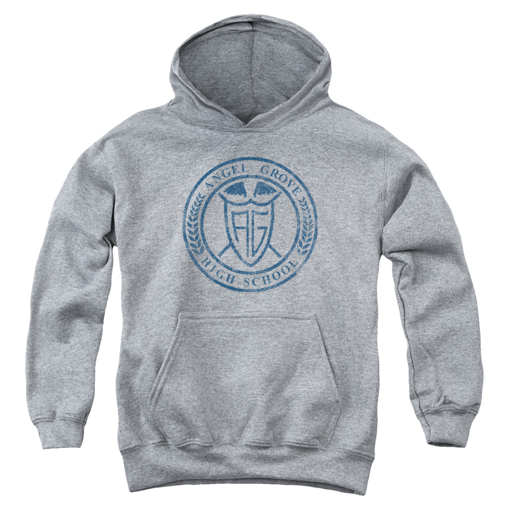 Power Rangers Angel Grove Hight School  Kids Hoodie
