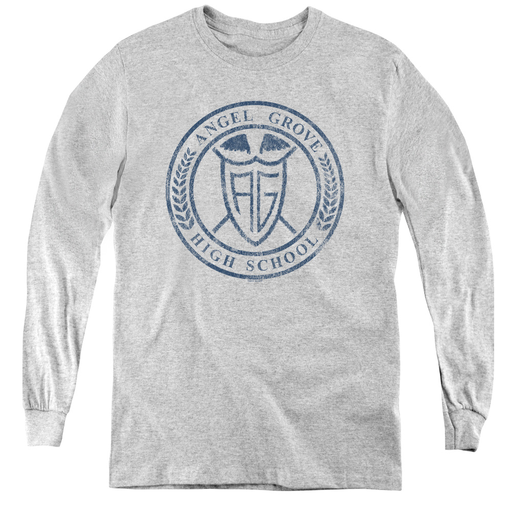 Power Rangers Angel Grove Hight School  Kids Long Sleeve Shirt