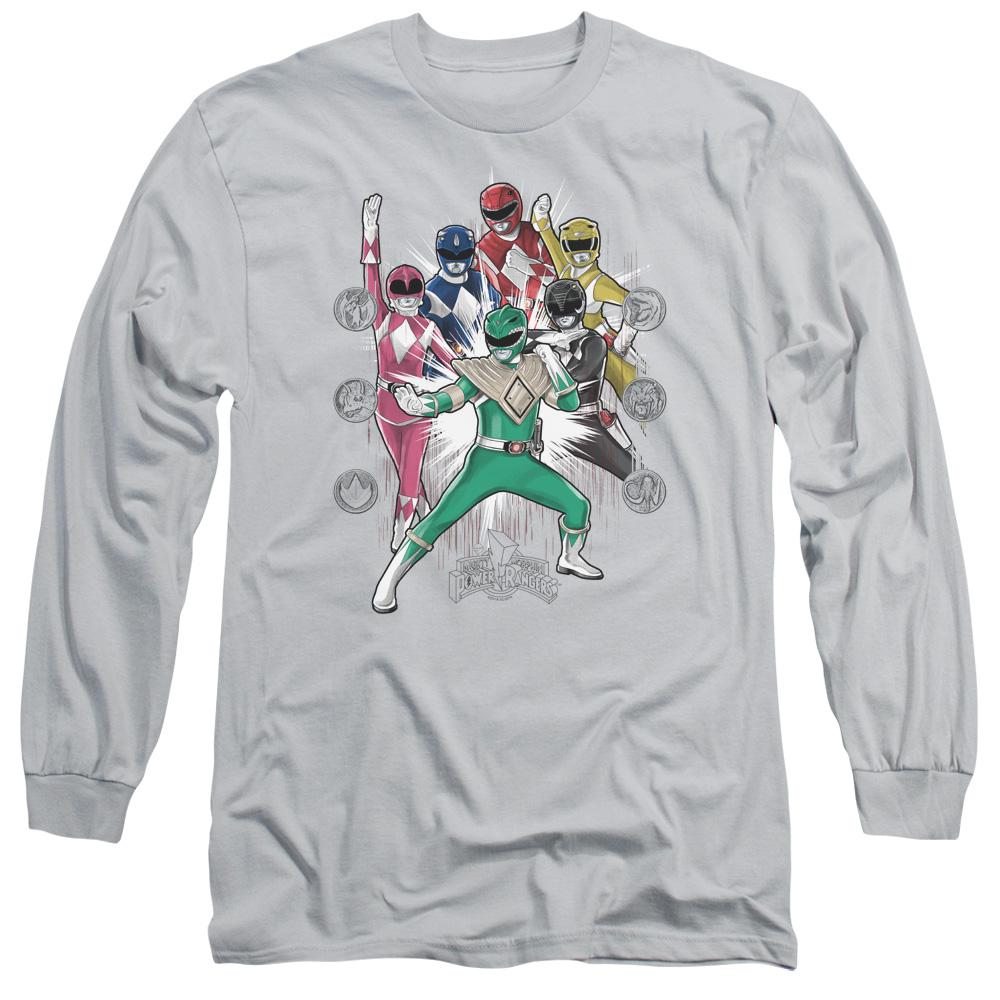 Power Rangers Manga Long Sleeve Shirt