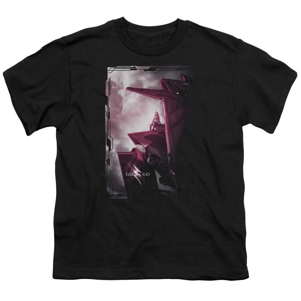 Power Rangers Pink Zord Poster Kids T-Shirt