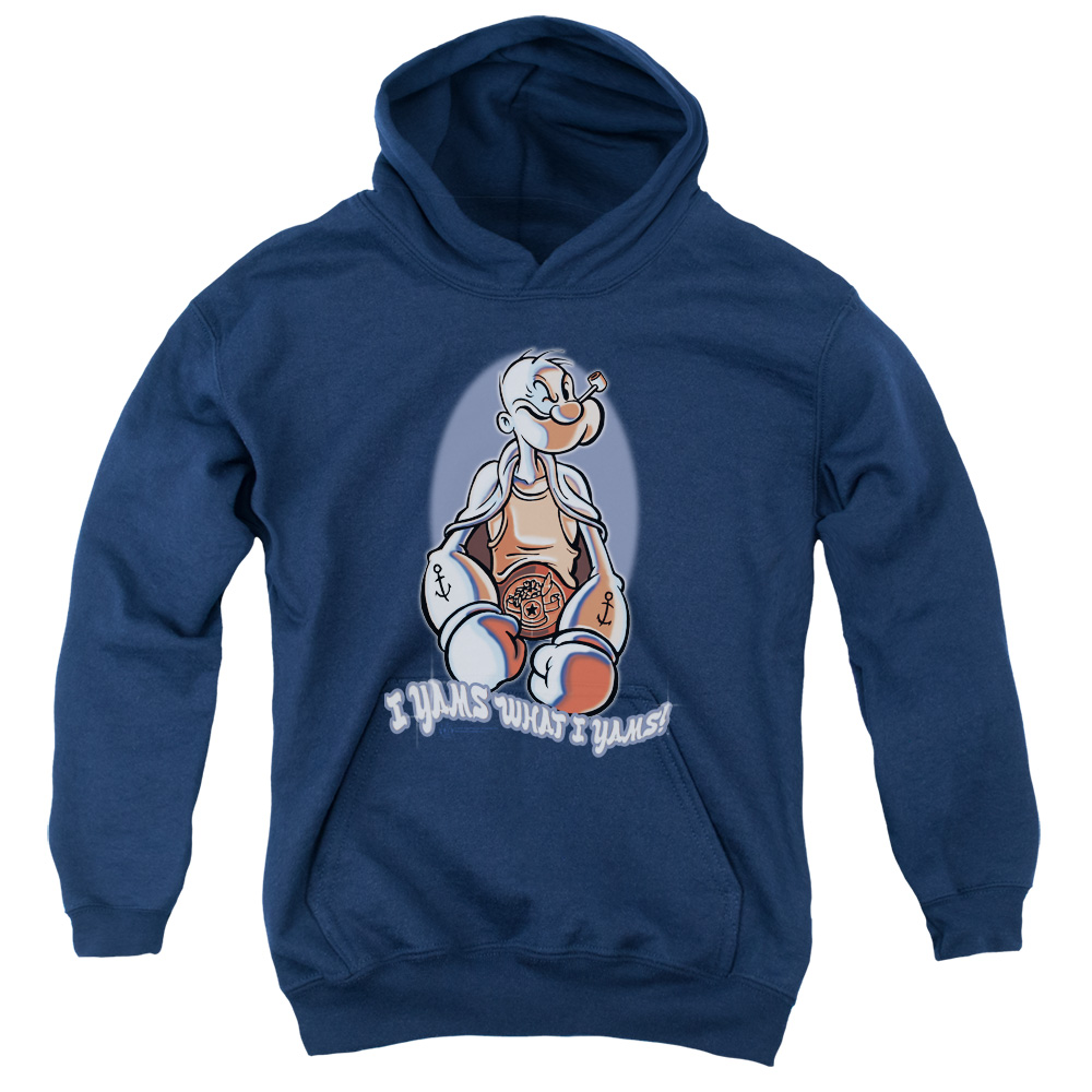 Popeye I Yams Kids Hoodie