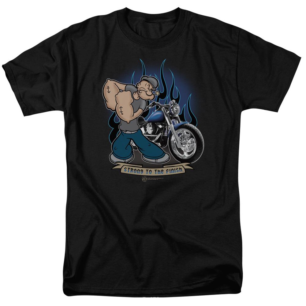 Popeye Biker T-Shirt