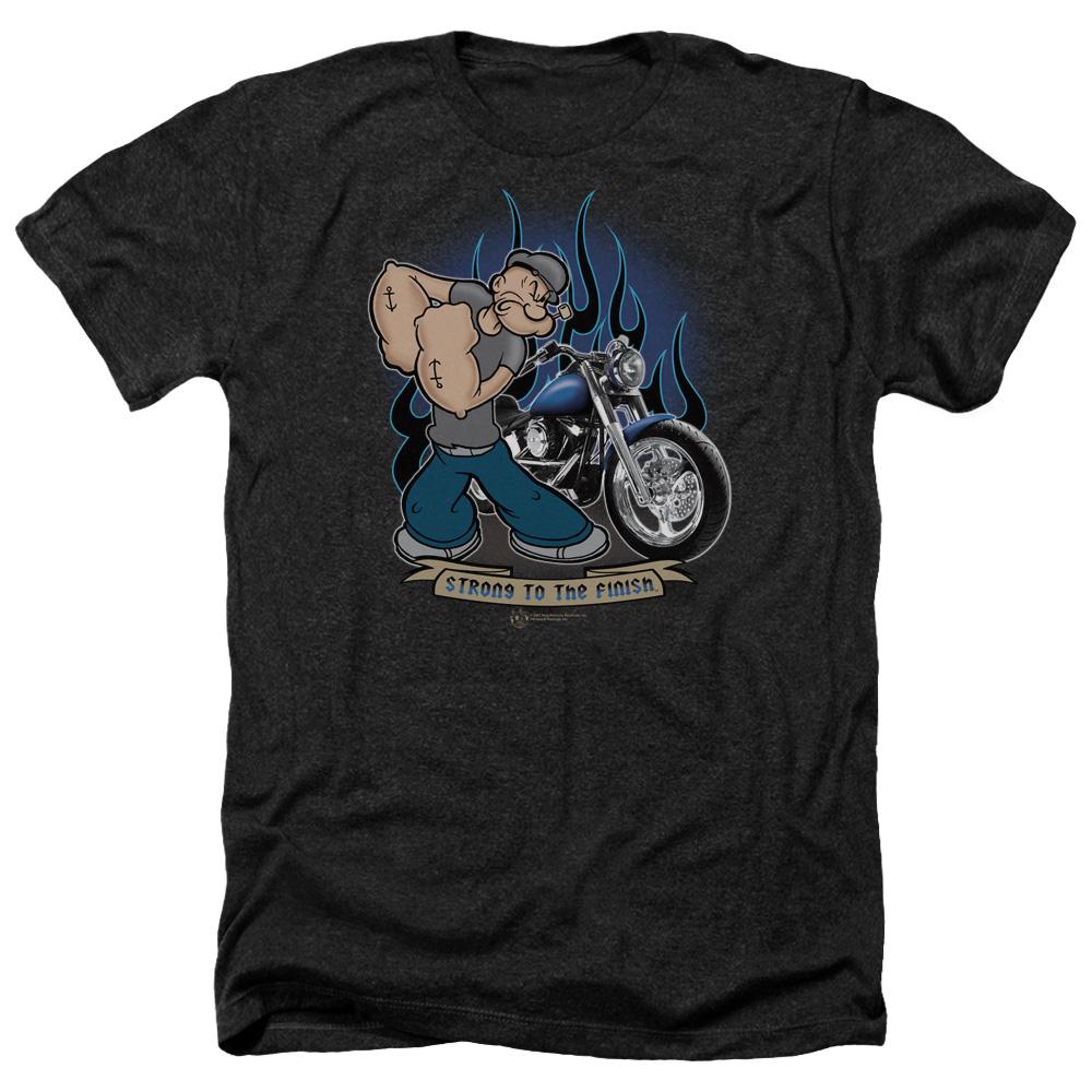 Popeye Biker Heather T-Shirt