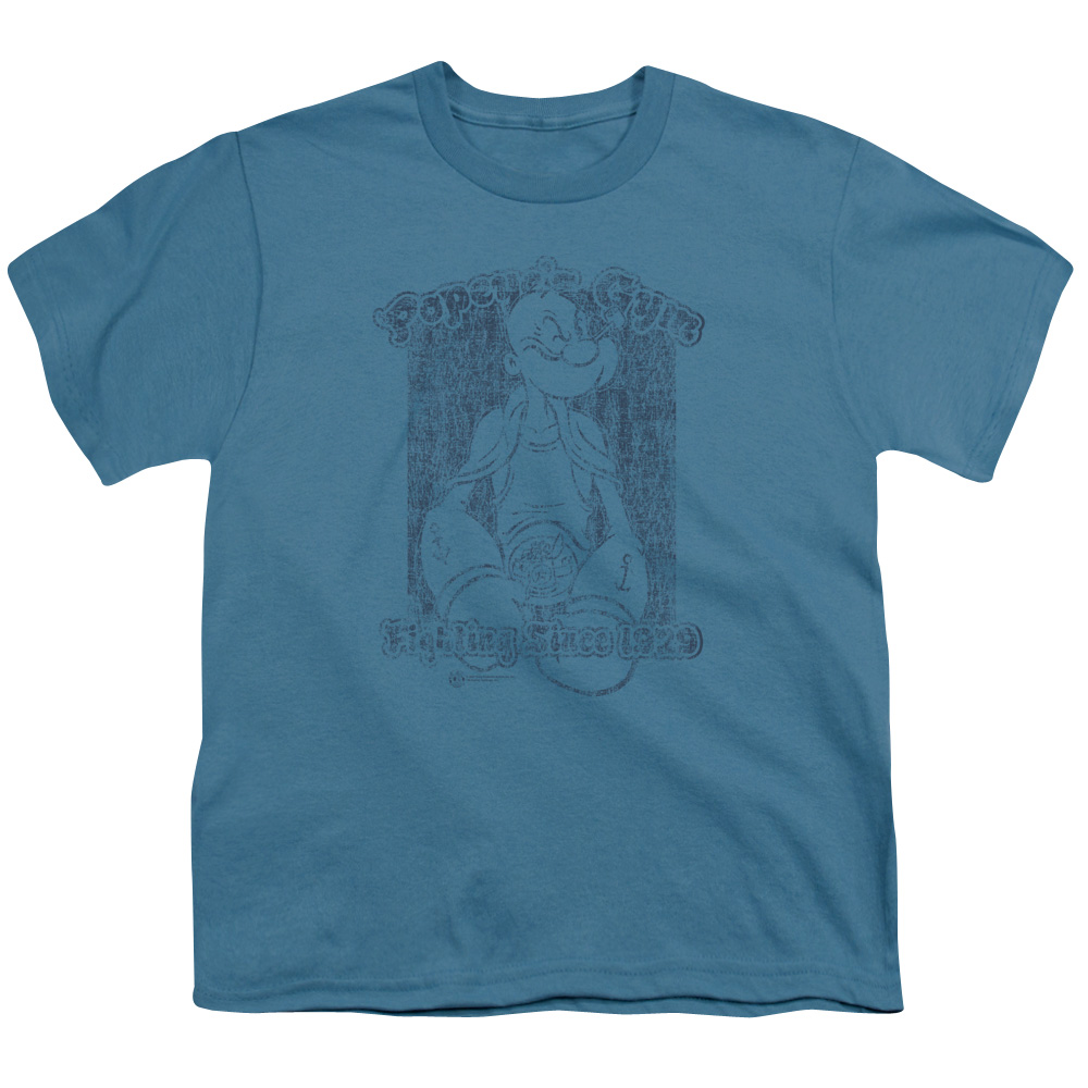 Popeye's Gym Retro Kids T-Shirt