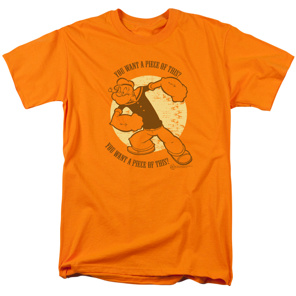 Popeye You Want A Piece of This T-Shirt