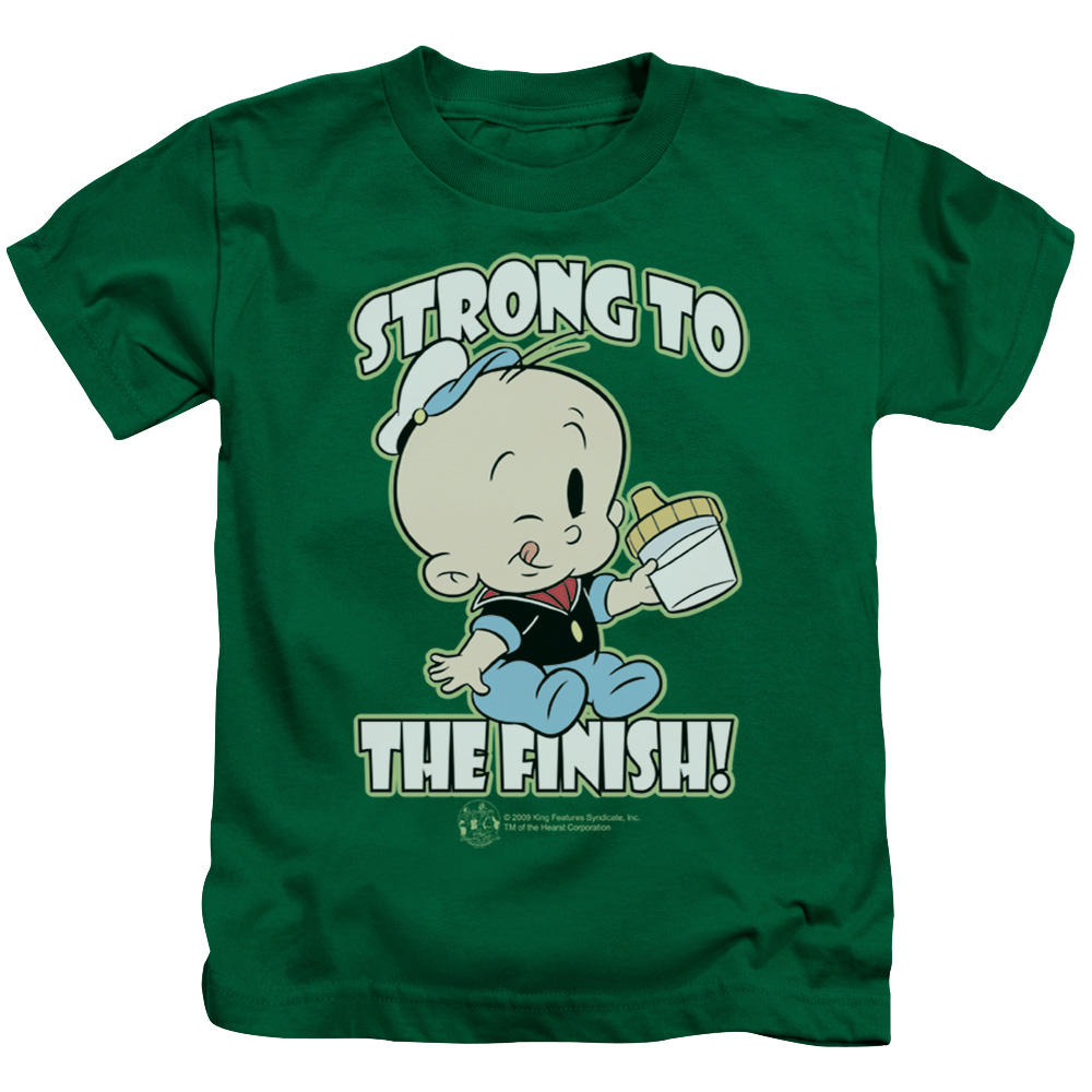 Popeye String To The Finish Juvy T-Shirt
