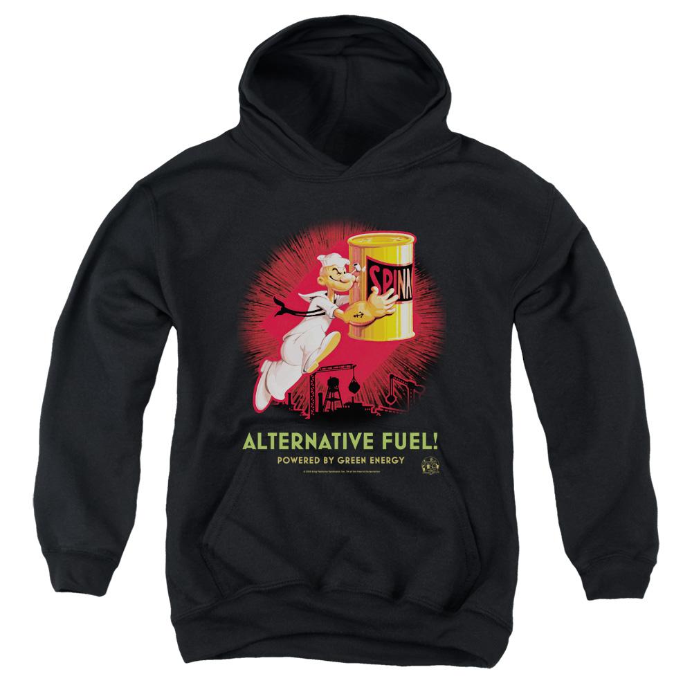 Popeye Alternative Fuel Kids Hoodie
