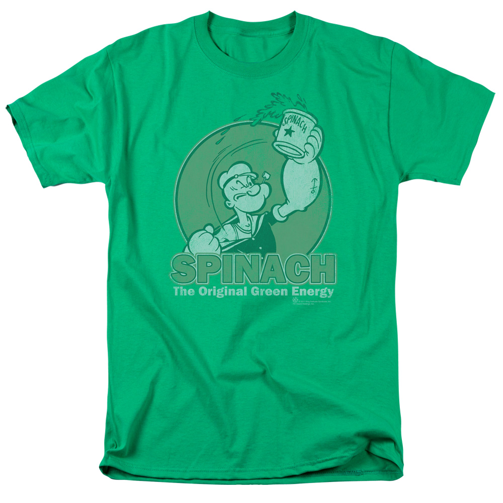 Popeye Green Energy T-Shirt