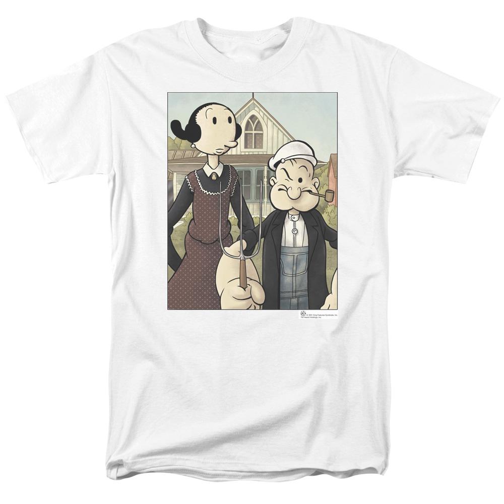 Popeye Gothic T-Shirt