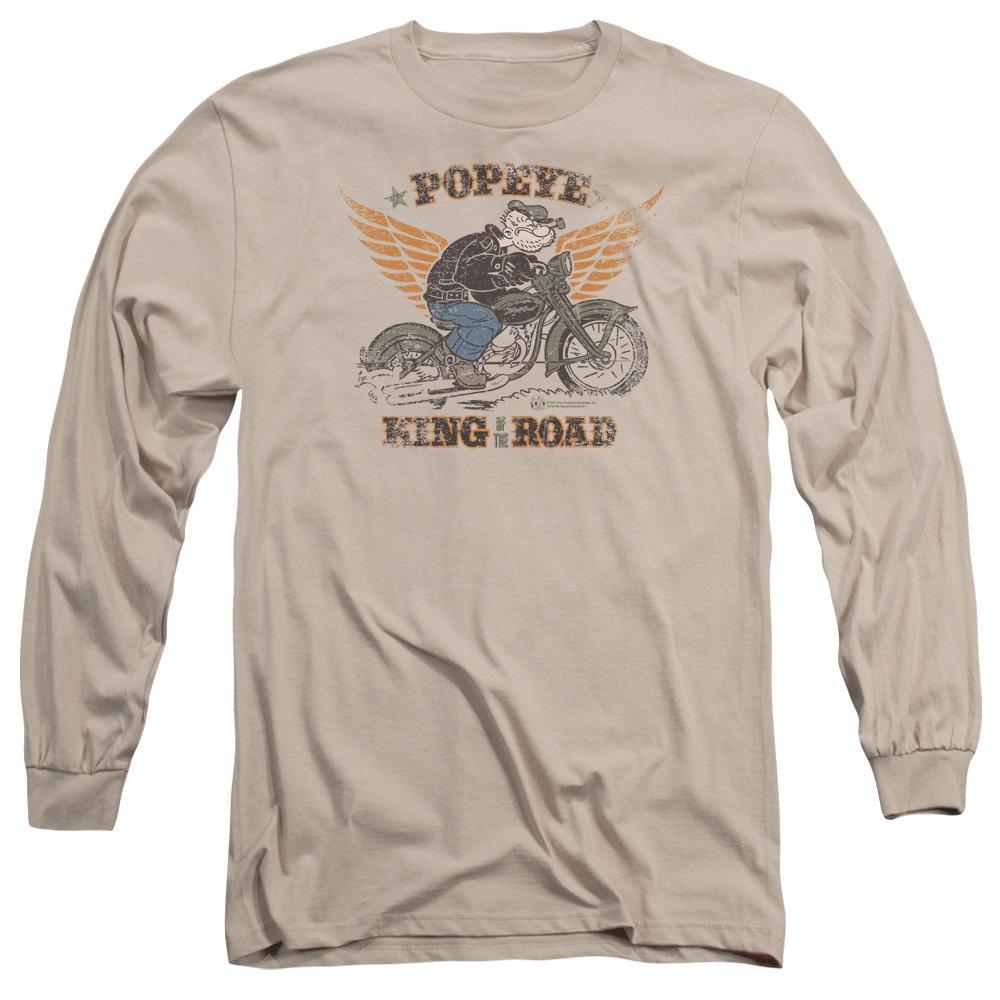 Popeye King Of The Road Long Sleeve Shirt