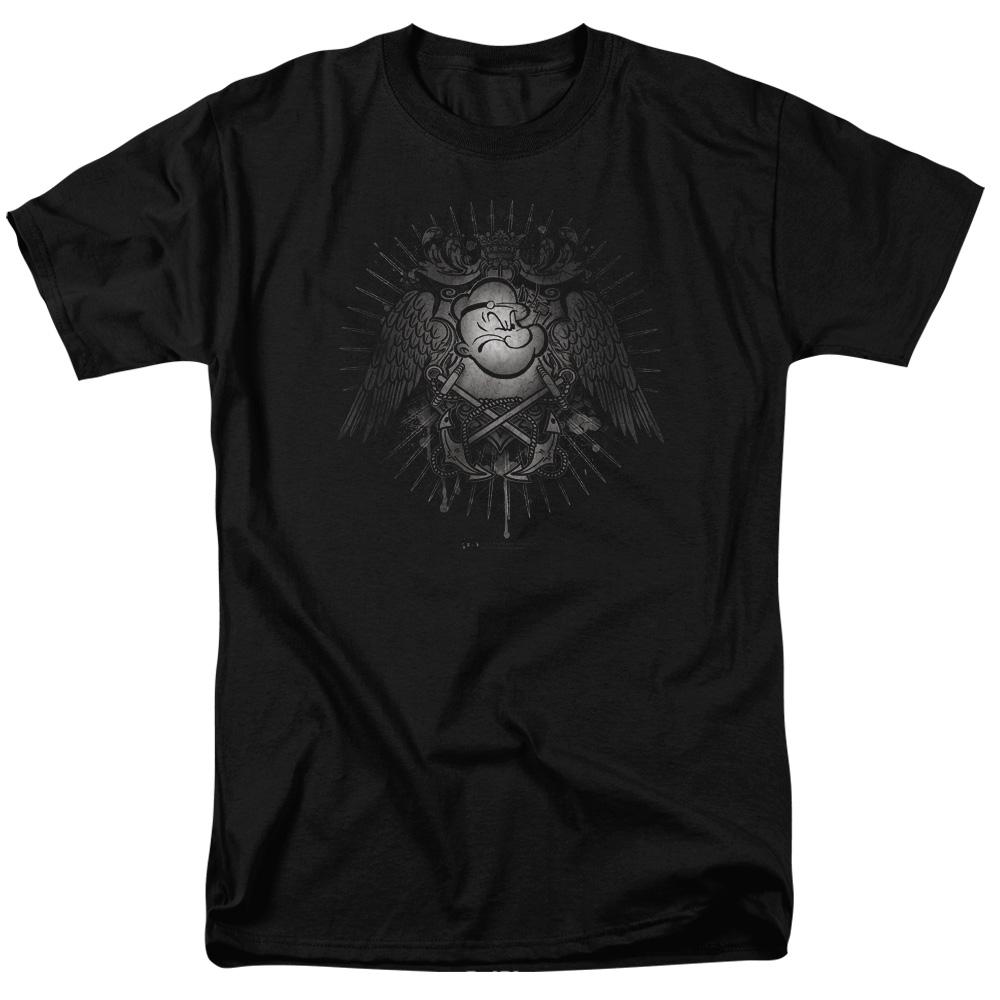 Popeye Sailor Heraldry T-Shirt