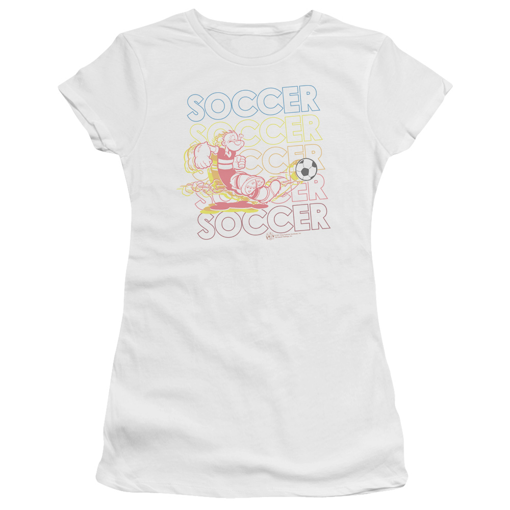 Popeye Soccer Junior Fit T Shirt