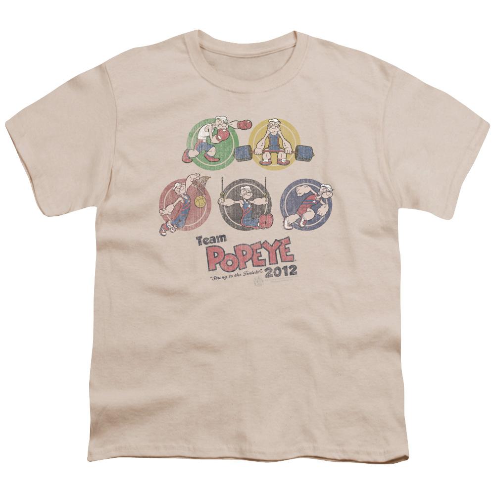 Popeye Team Popeye Kids T-Shirt