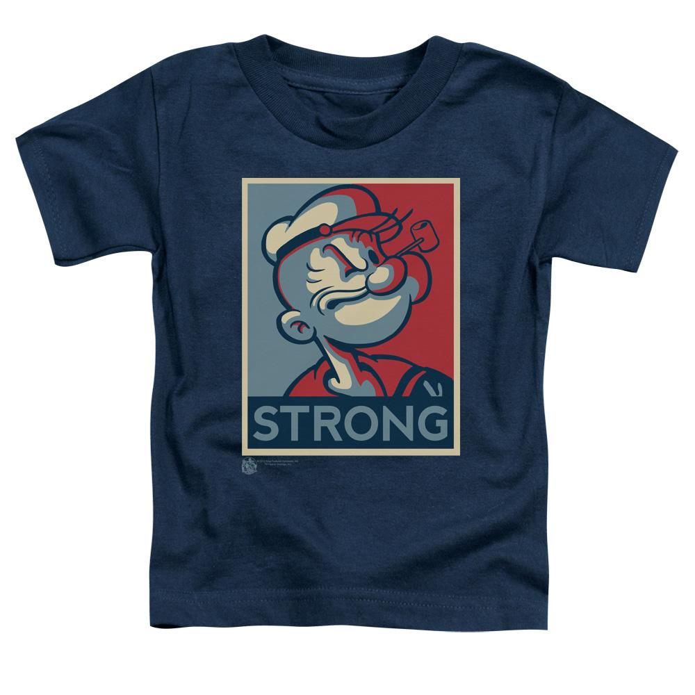 Popeye Strong  Toddler T-Shirt
