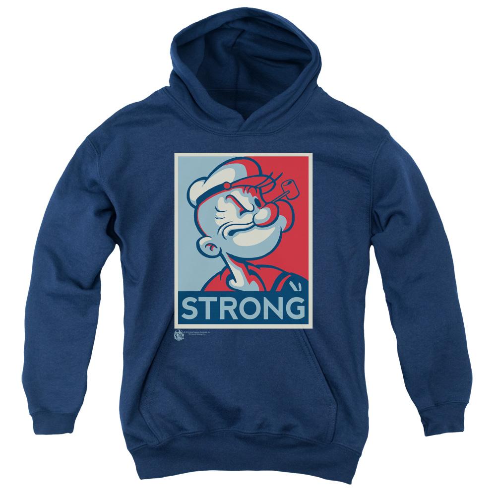 Popeye Strong  Kids Hoodie