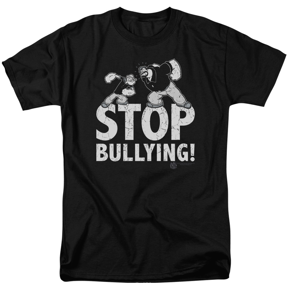 Popeye Stop Bullying T-Shirt