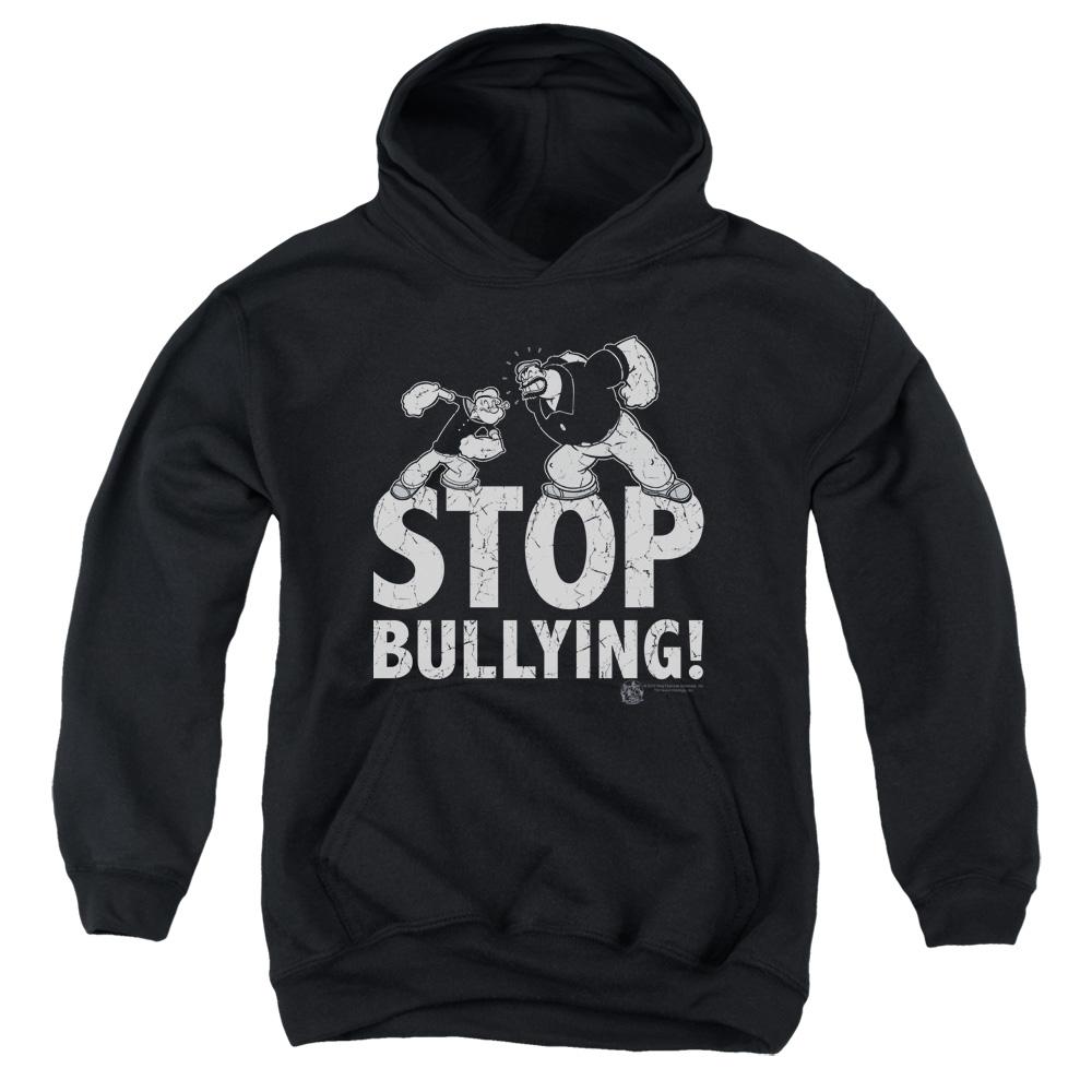 Popeye Stop Bullying Kids Hoodie
