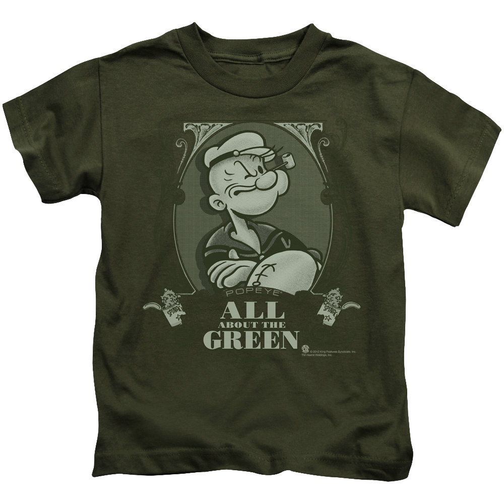 Popeye All About The Green Juvy T-Shirt