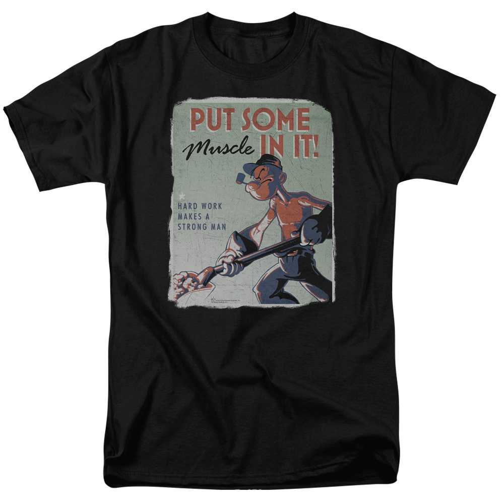 Popeye Hard Work T-Shirt