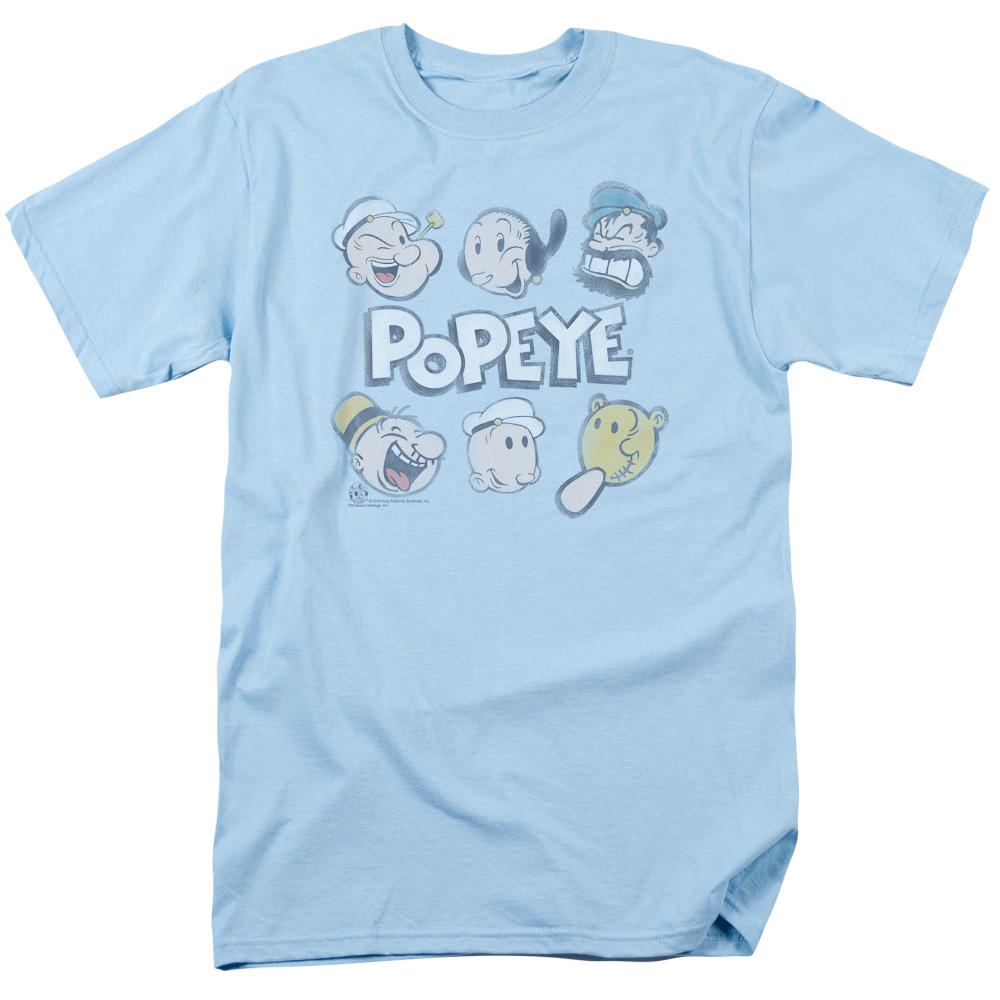 Popeye Heads Up T-Shirt