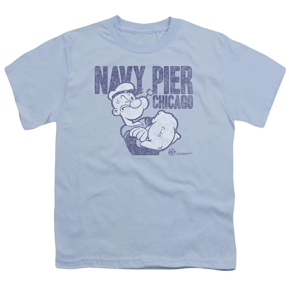 Popeye Navy Pier Kids T-Shirt