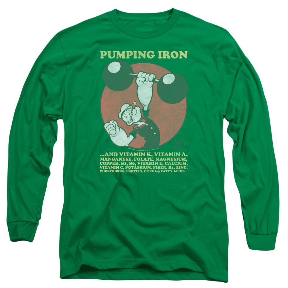 Popeye Pumping Iron