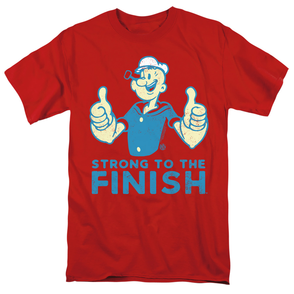 Popeye Strong To The Finish T-Shirt