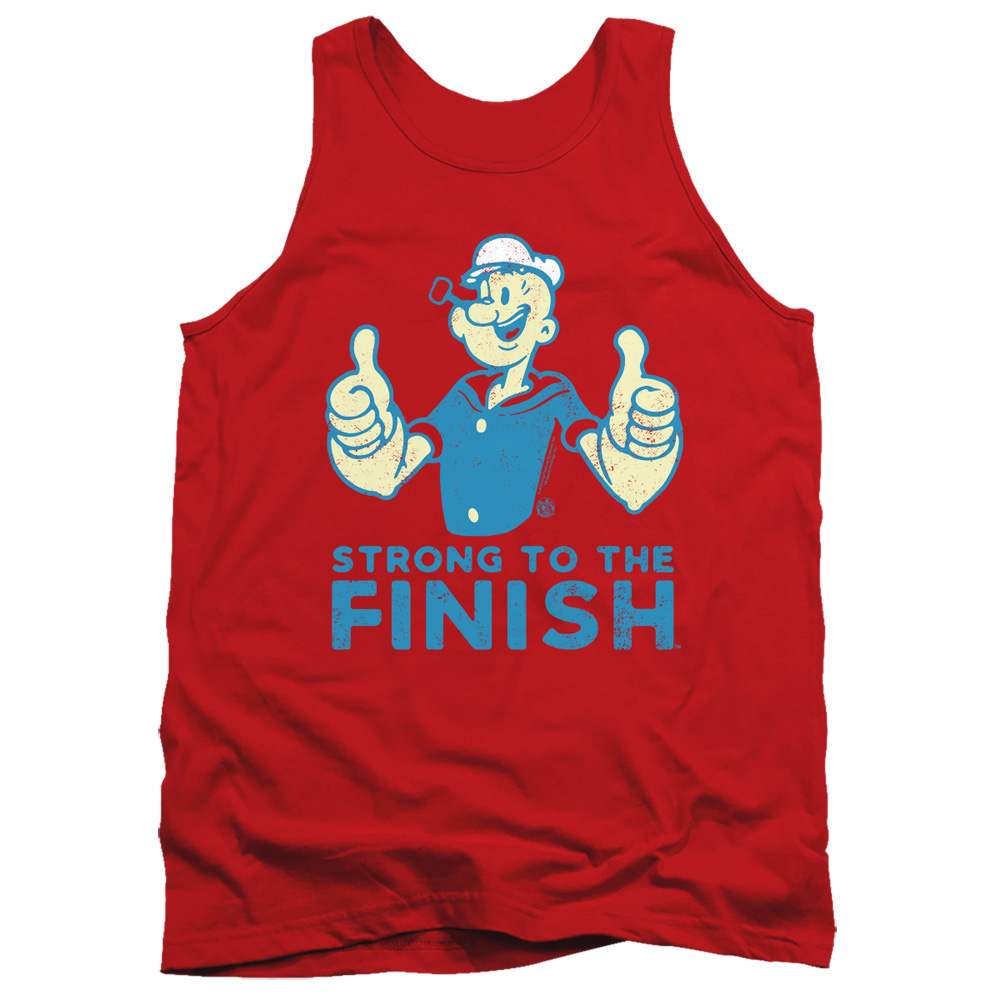 Popeye Strong To The Finish