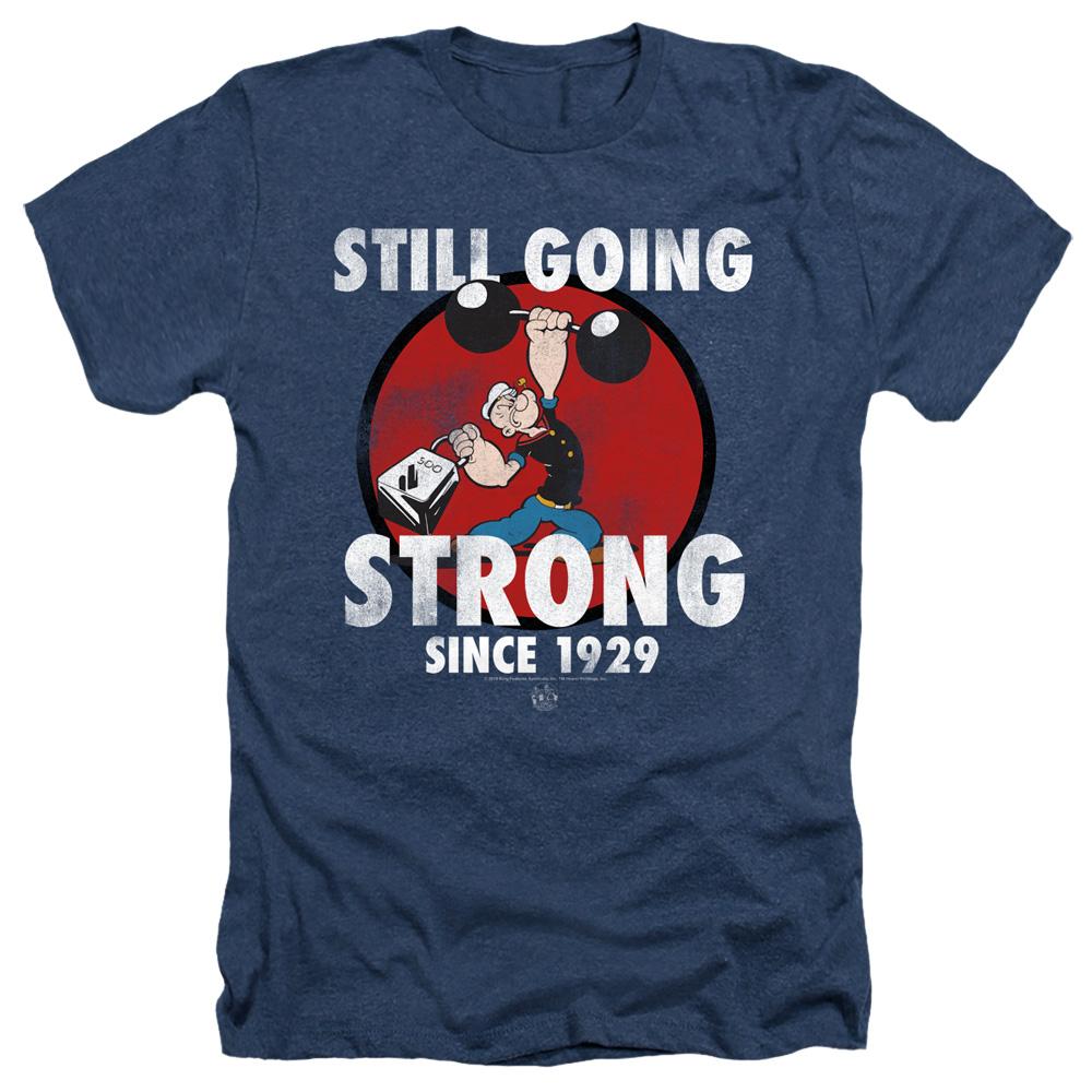 Popeye Still Going Strong Heather T-Shirt