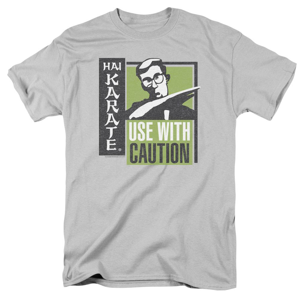 Hai Karate BIG LOGO Licensed Adult Long Sleeve T-Shirt S-3XL