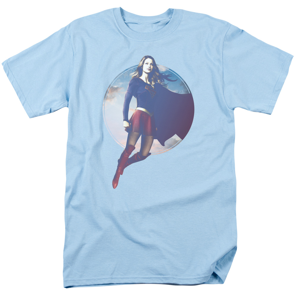 Supergirl TV Series - Cloudy Circle T-Shirt