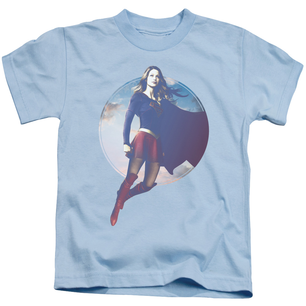 Supergirl TV Series - Cloudy Circle Juvy T-Shirt
