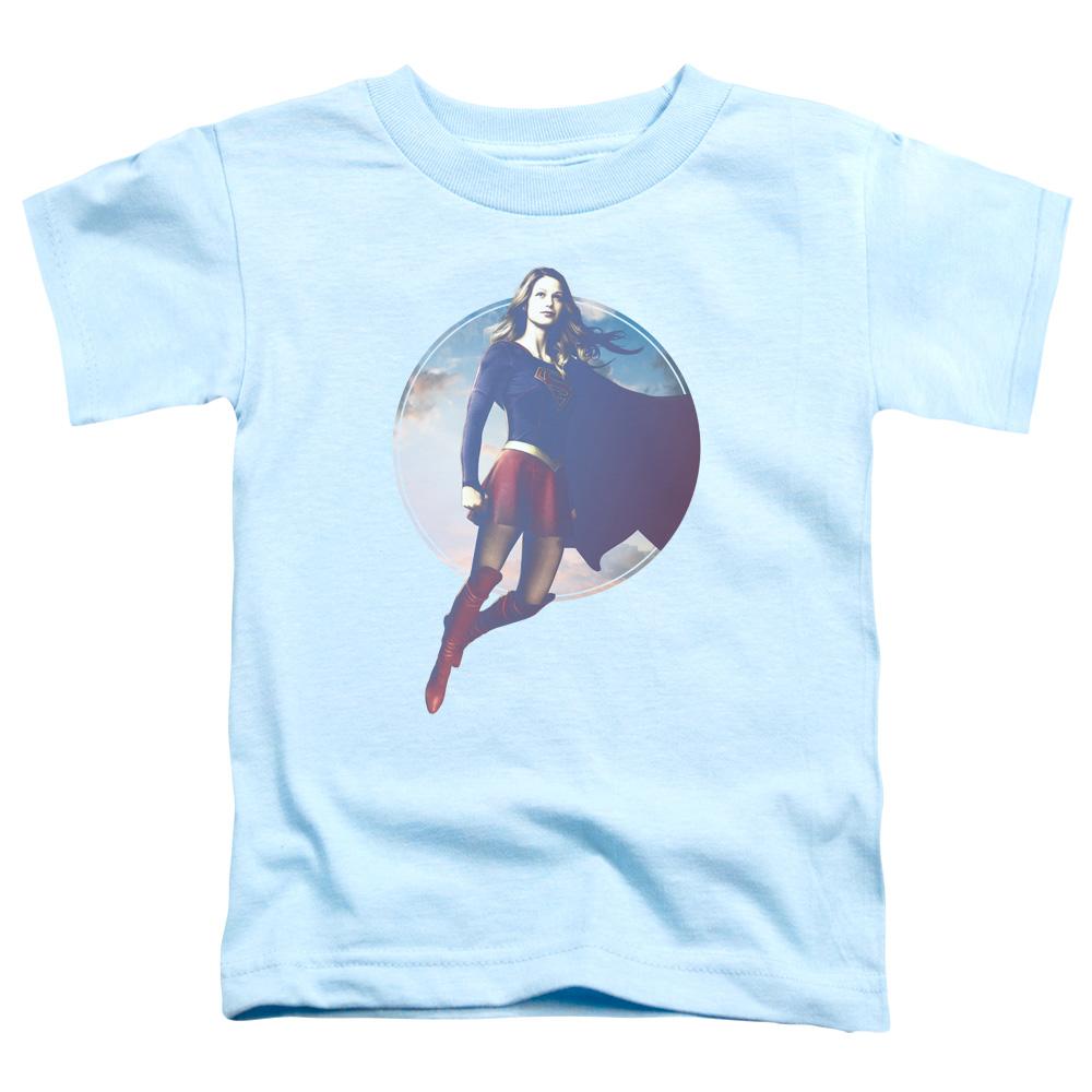 Supergirl TV Series - Cloudy Circle Toddler T-Shirt