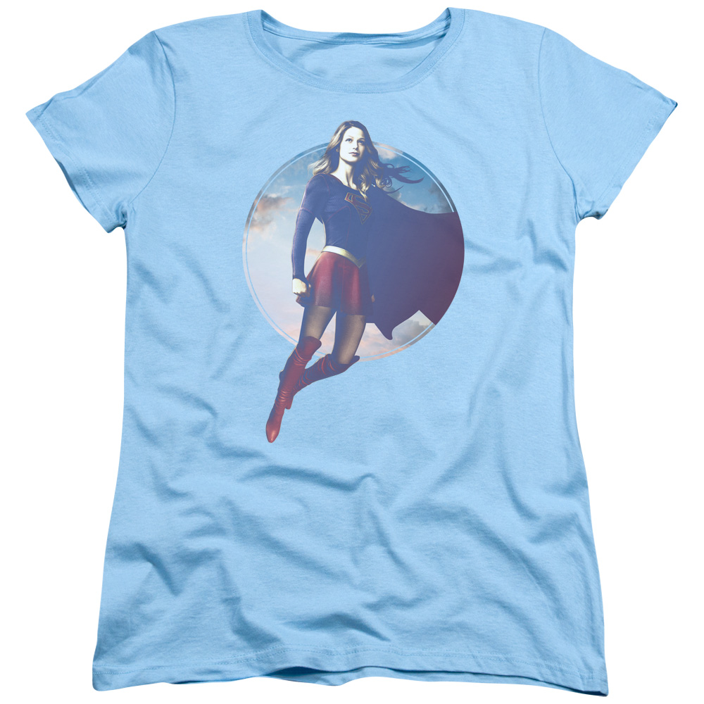 Supergirl TV Series - Cloudy Circle Women's T-Shirt